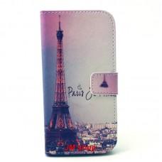 HTC One M9 kožený obal Paris