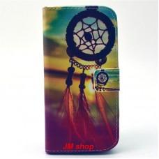 HTC One M9 kožený obal Dream Catcher