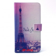 Alcatel OneTouch POP C9 kožený obal Paris