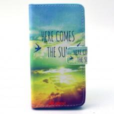 Samsung Galaxy A3 kožený obal THE SUN