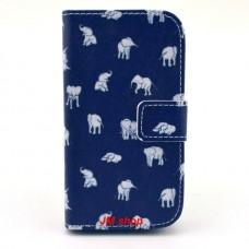Samsung Galaxy Star Pro kožený obal White Elephant