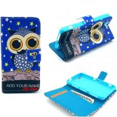 Sony Xperia Z1 Compact kožený obal Blue Owl