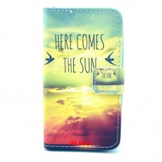 HUAWEI Ascend Y330 kožený obal THE SUN