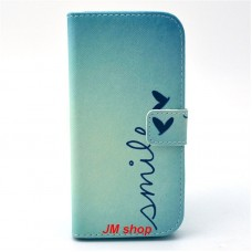 HTC One M9 kožený obal Smile