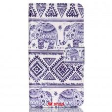 Sony Xperia Z5 Compact kožený obal Blue Elephant