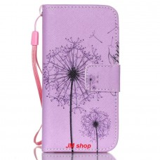 iPhone 5S kožený obal Be Free Dandelions