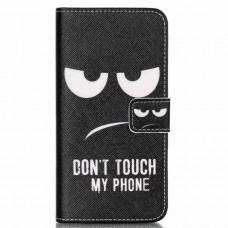 LG Nexus 5X kožený obal Black Eyes
