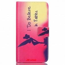 HTC Desire 626 kožený obal Víla