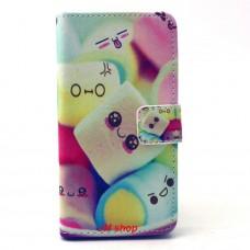 Samsung Galaxy A3 kožený obal Marshmallow