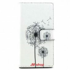 Sony Xperia M2 kožený obal Dandelion