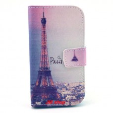 Samsung Galaxy Star Pro kožený obal Paris - SKLADEM