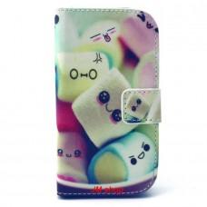 Samsung Galaxy G310 kožený obal Marshmallow