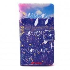 Samsung Galaxy A5 kožený obal Enjoy Every Moment
