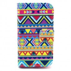 Samsung Galaxy Ace 2 kožený obal Cool Stripe