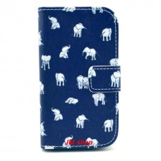 Samsung Galaxy Ace 3 kožený obal White Elephant