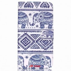 HTC Desire 626 kožený obal Cool Elephant