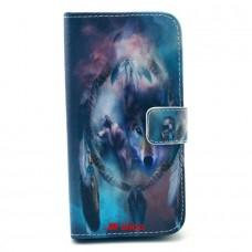 LG G3S kožený obal Dream Catcher Wolf