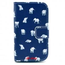 Samsung Galaxy Fame kožený obal White Elephant