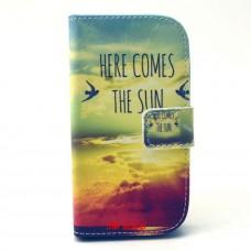 Samsung Galaxy G310 kožený obal THE SUN