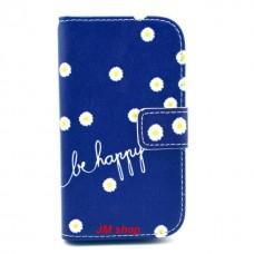 Samsung Galaxy Ace 3 kožený obal Be Happy