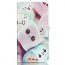 Sony Xperia Z5 Compact kožený obal Marshmallow