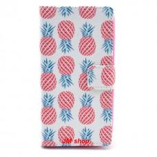 Nokia Lumia 630, 635 kožený obal Pineapple