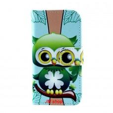 LG L90 kožený obal Green Owl - SKLADEM