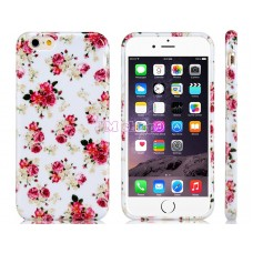 iPhone 6 gumový kryt Floral