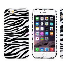 iPhone 6 gumový kryt Zebra