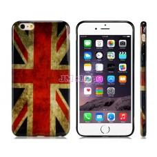 iPhone 6 Plus gumový kryt UK flag