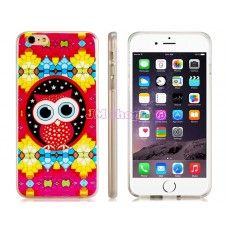 iPhone 6 Plus gumový kryt Cute Owl