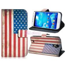 Obal na Samsung Galaxy S4 I9500 USA Flag - SKLADEM