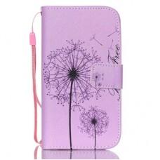 iPhone 5C kožený obal Be Free Dandelions