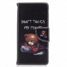 Sony Xperia XA1 kožený obal Bear