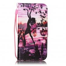 Sony Xperia XA kožený obal Beauty Girl