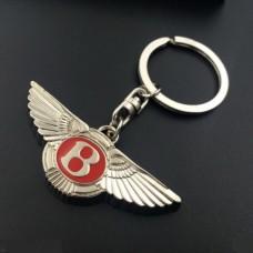 Bentley přívěsek na klíče 3D červený - SKLADEM
