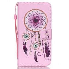 Samsung Galaxy S6 kožený obal Pink Dream Catcher
