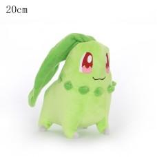 Pokémon plyšák Chikorita 20 cm - SKLADEM