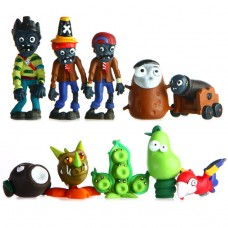JMS Plants Vs Zombies figurky 10ks - SKLADEM