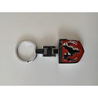 Přívěsek na klíče Dodge červený - SKLADEM