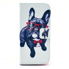 iPhone 6 kožený obal Dog