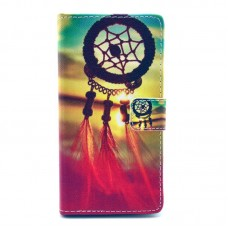 Motorola Moto X Play kožený obal Dream Catcher
