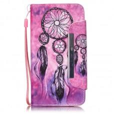 Samsung Galaxy Core Prime kožený obal Dream Catcher Pink