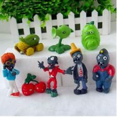 JMS Plants Vs Zombies figurky sada 8ks - SKLADEM