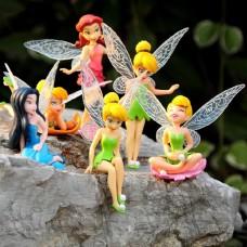 Figurky JMS Tinkerbell Fairy sada 6ks - SKLADEM