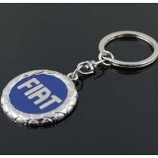 Fiat přívěsek na klíče 3D modrý - SKLADEM