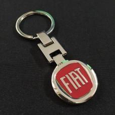 Přívěsek na klíče Fiat červený - SKLADEM