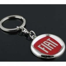 Fiat přívěsek na klíče červený - SKLADEM