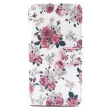 LG L40 kožený obal Penoy Flower - SKLADEM
