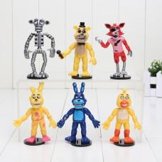 Five Nights at Freddy's figurky 6 ks - SKLADEM